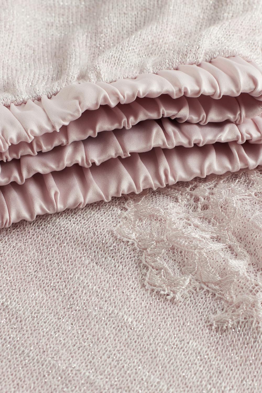 Viscose and Lace Pyjamas