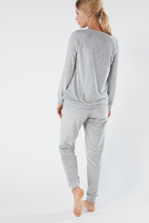 Pyjama en Chenille et Viscose