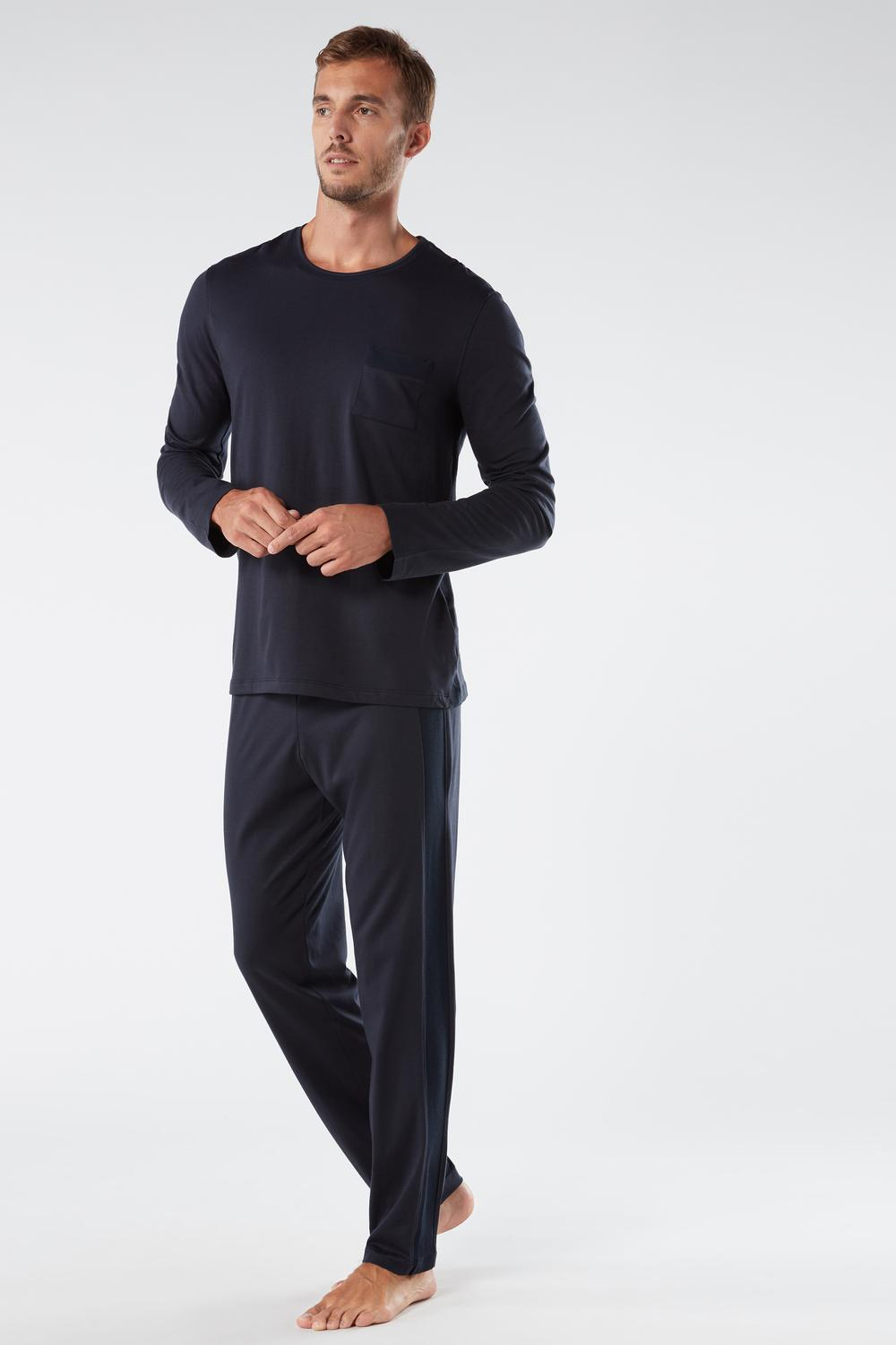 Long Basic Supima® Cotton Pyjamas