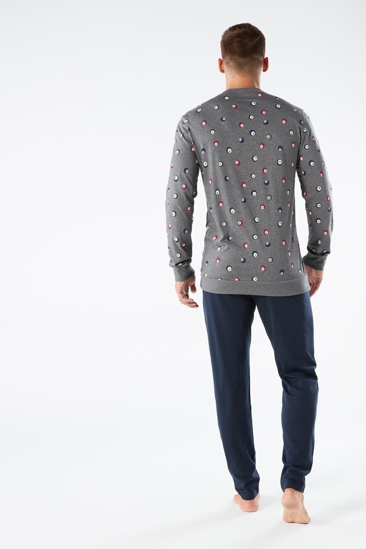 Bedruckter Jersey-Pyjama