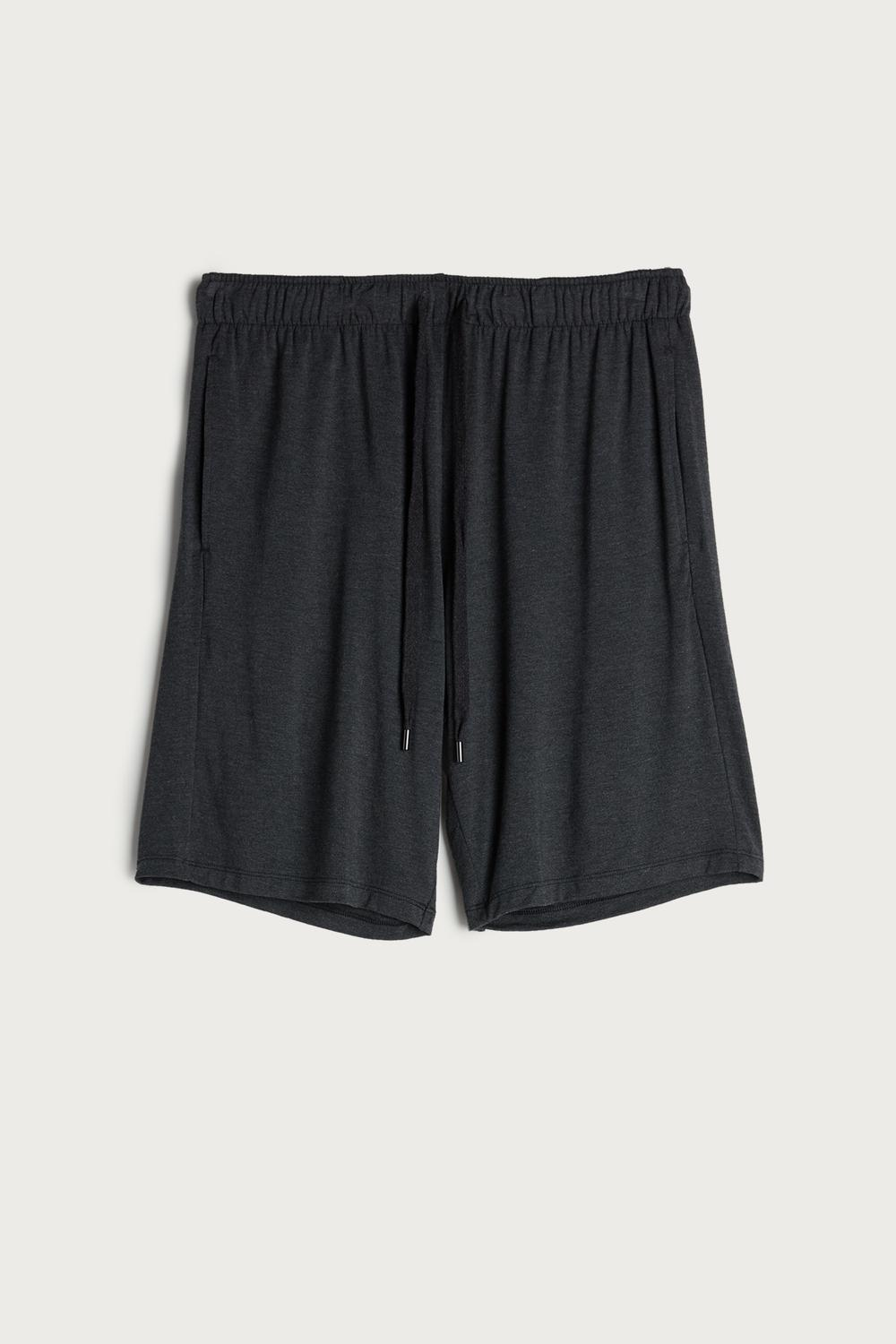 Silk and Modal Shorts