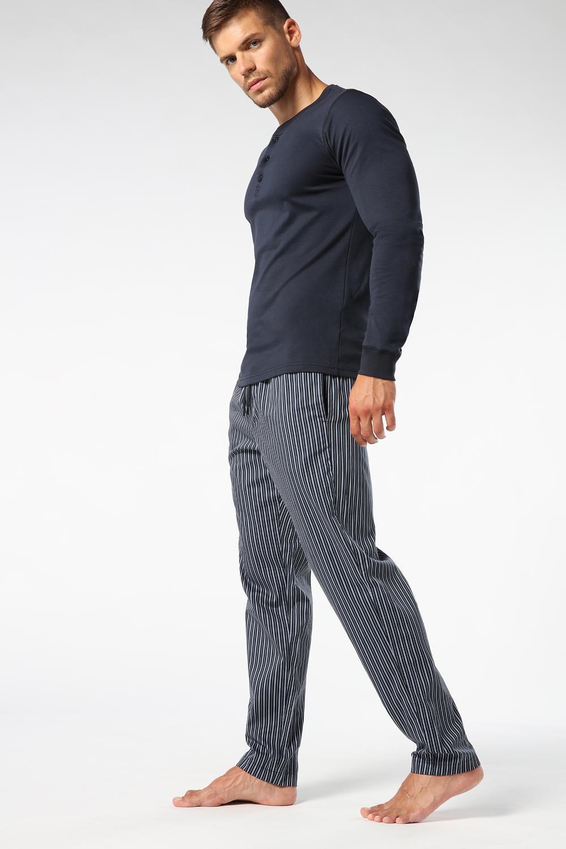Striped Cotton Pyjama Pants