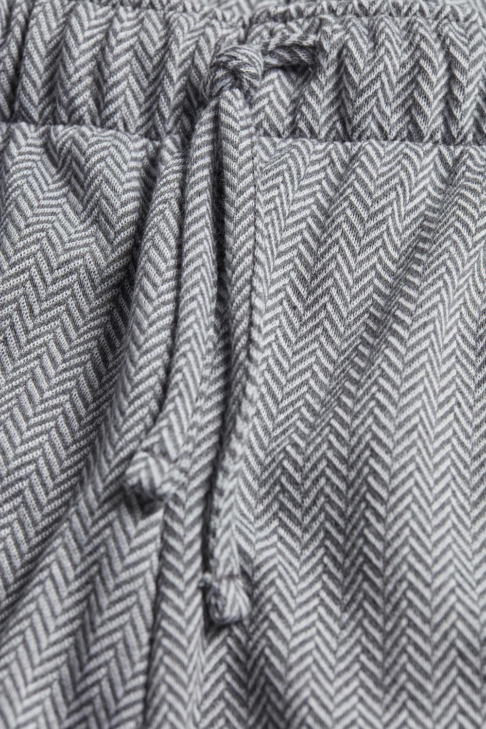 Long Chevron Pants
