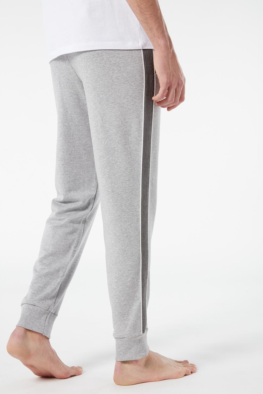 Stripe Long Fleece Trousers