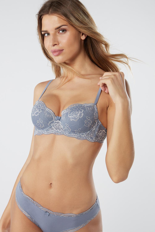 Sofia Lace Balconette Bra