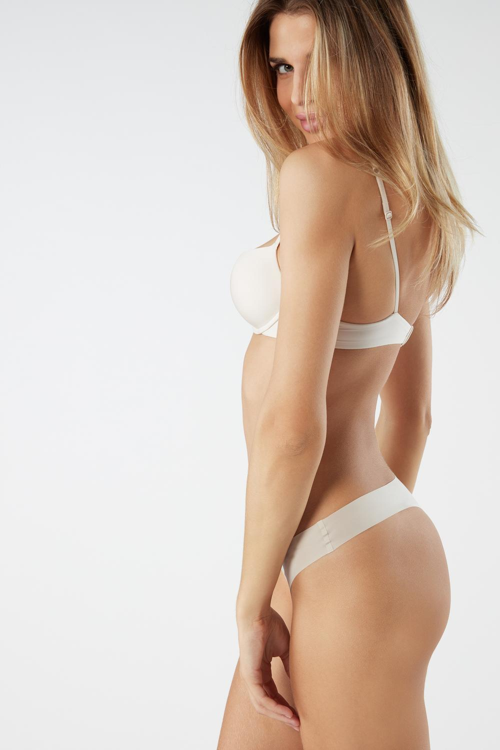 Ultralight Microfibre Silvia Push-Up Bra