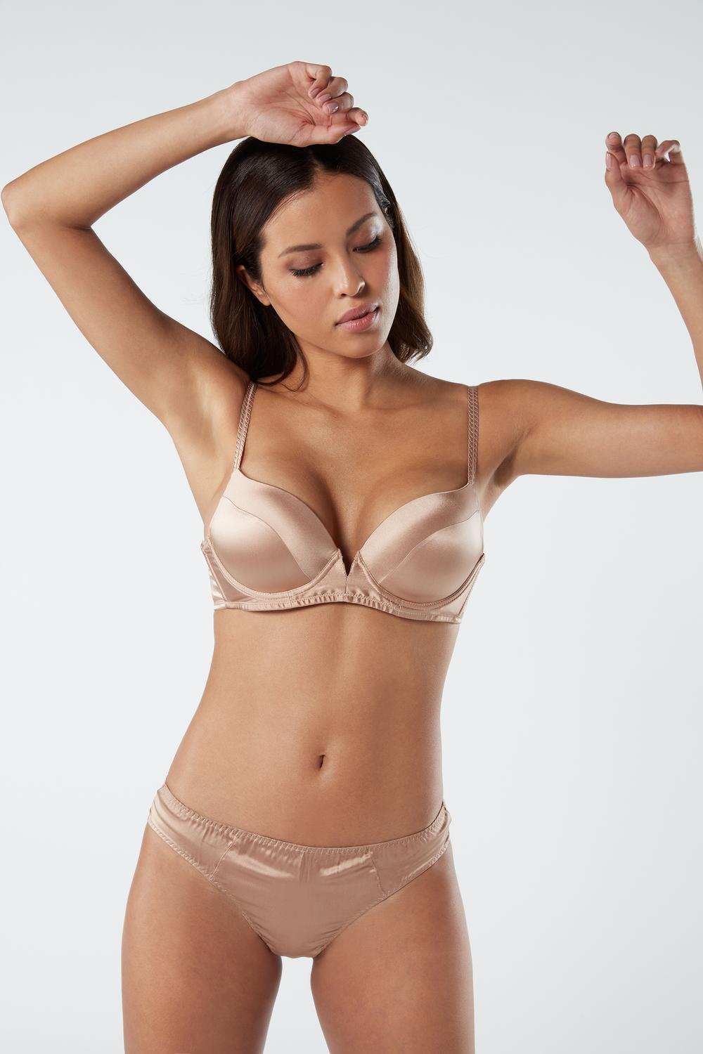 Mia Silk Super Push-Up Bra