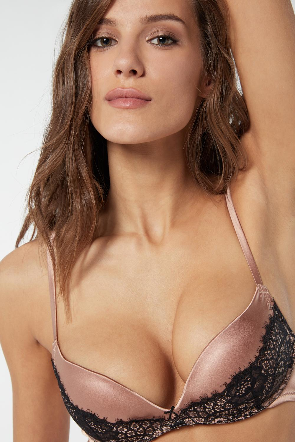 Reggiseno Super Push-up Gioia in Seta Rare Beauty
