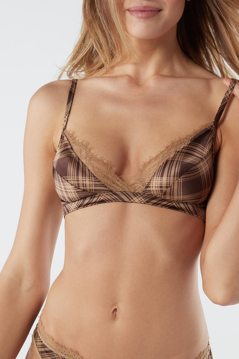 Country Calling Triangle Bra