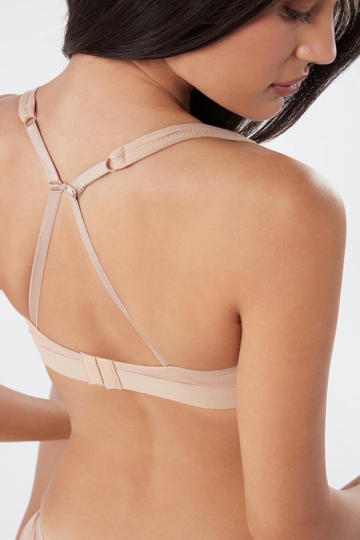 Lara Natural Cotton Triangle Bra