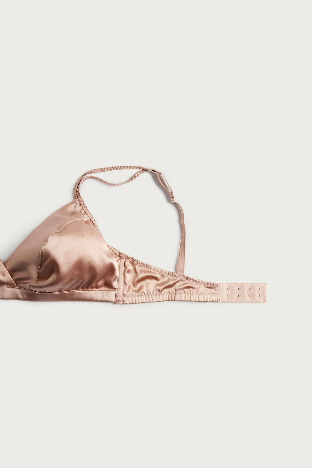 Emma Silk Triangle Bra