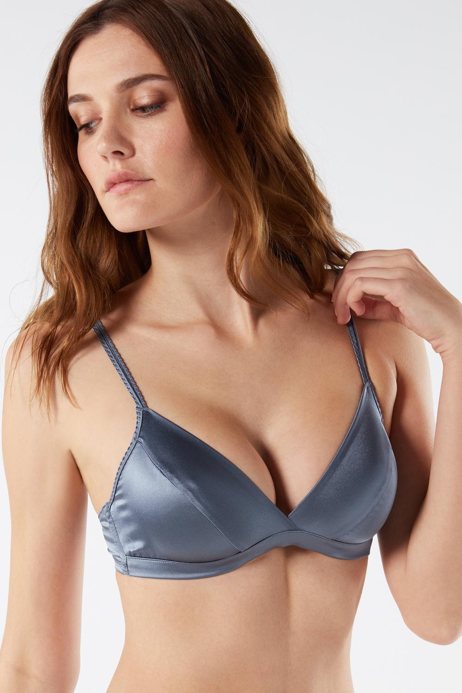 Emma Silk Triangle Bra