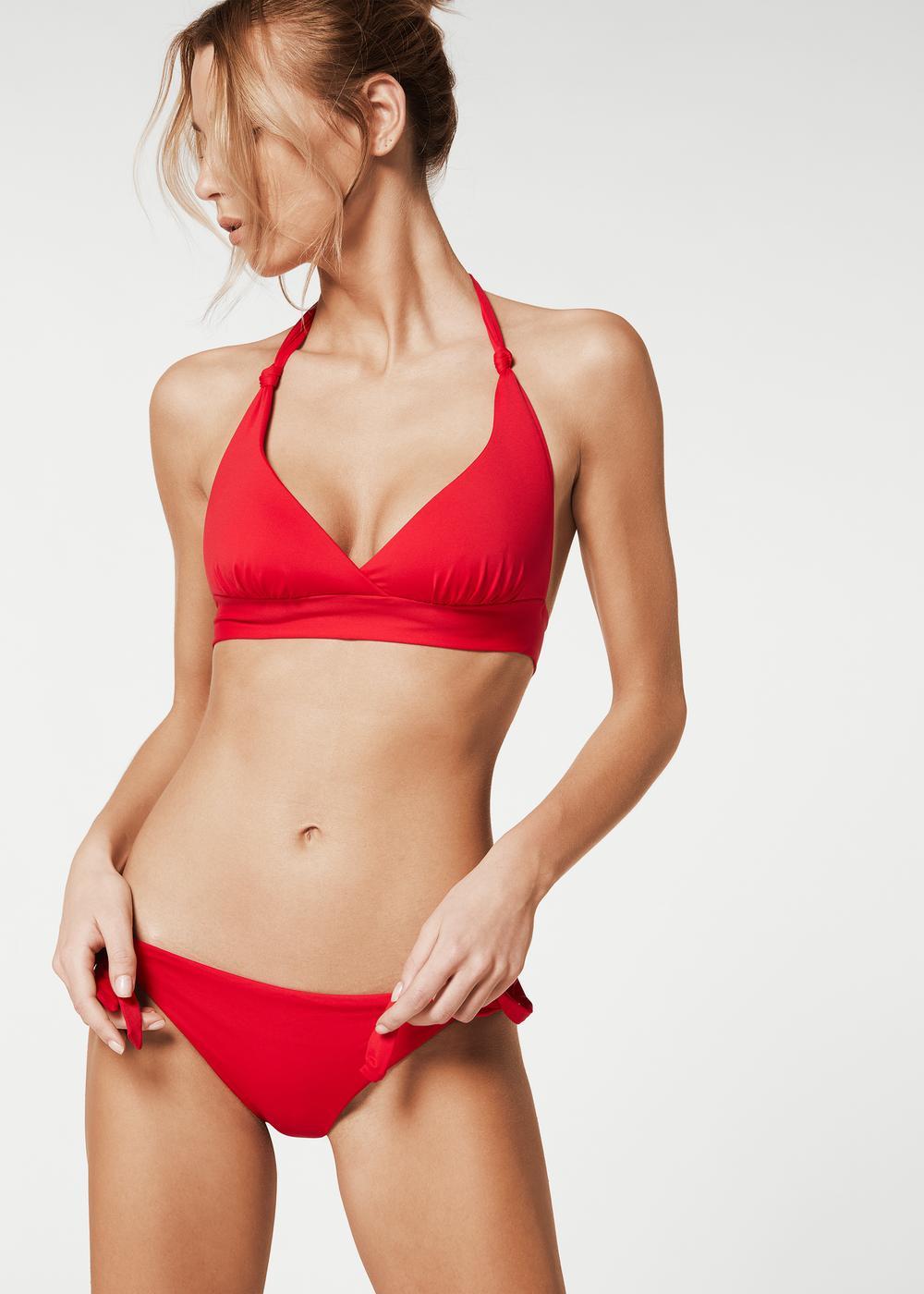 Indonesia Slightly Padded Triangle Bikini Top