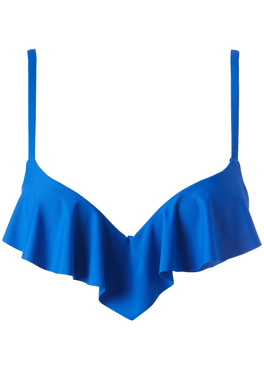 Indonesia Super Push-Up Bikini with Ruffle Detail