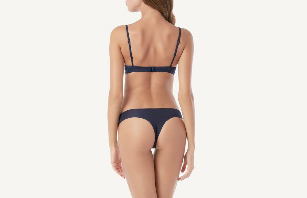 Laser-cut Cotton Brazilian Underwear