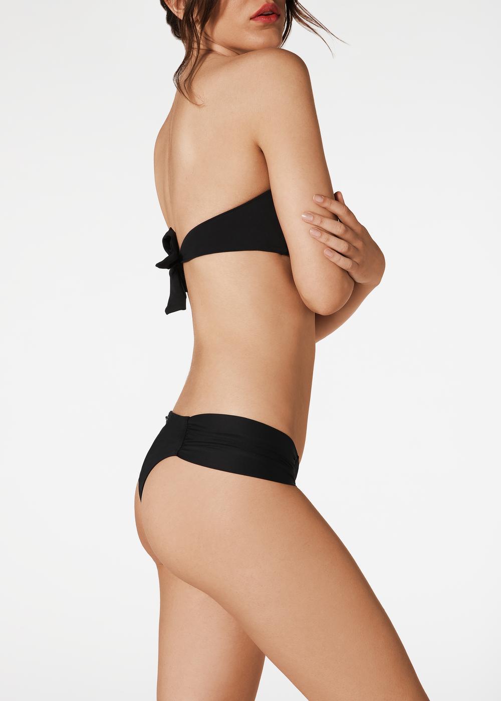 Indonesia Ruffle Brazilian Bikini Bottoms