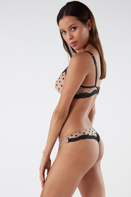 Flirty Nudes Brazilian Knickers