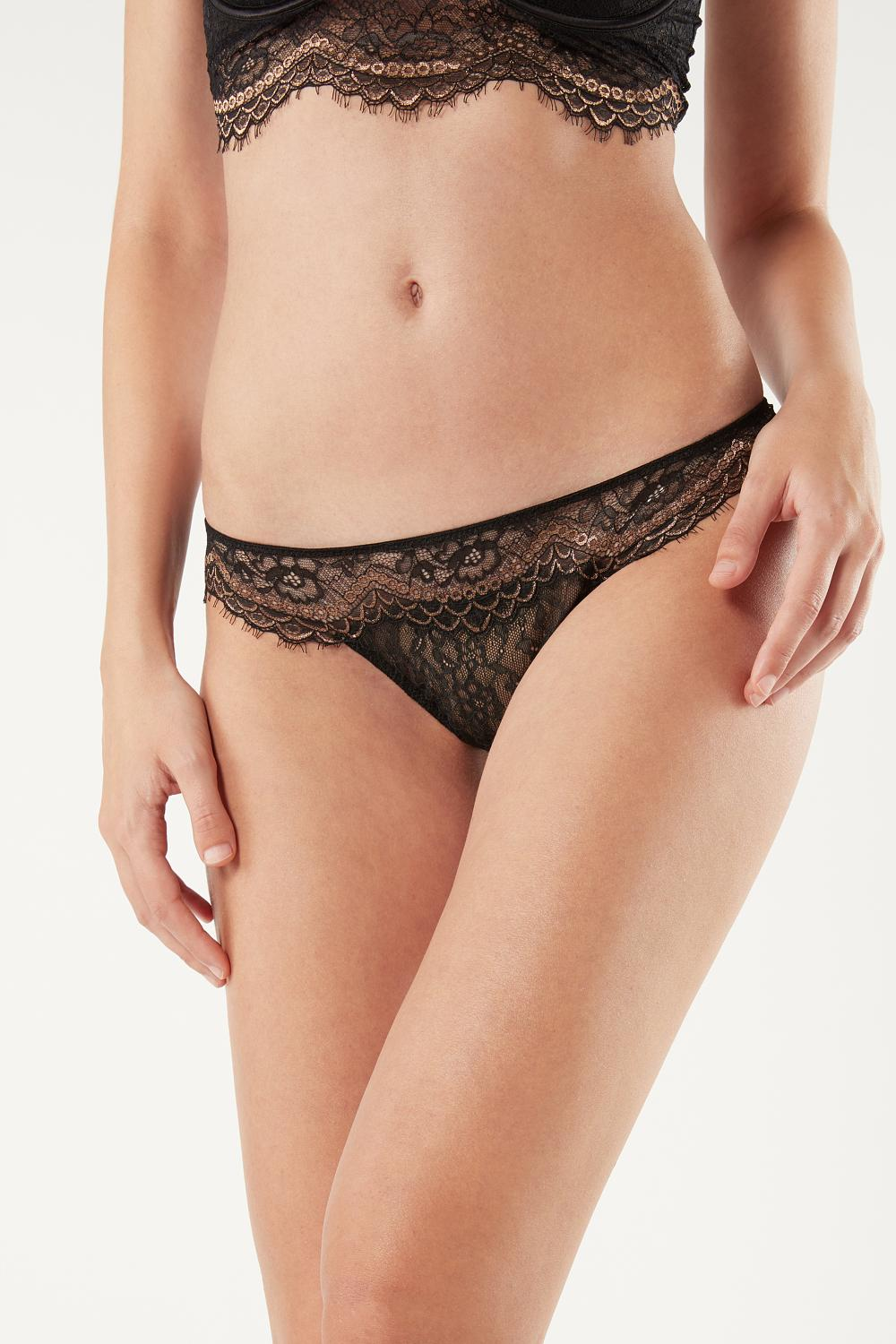 My Golden Touch Brazilian Knickers