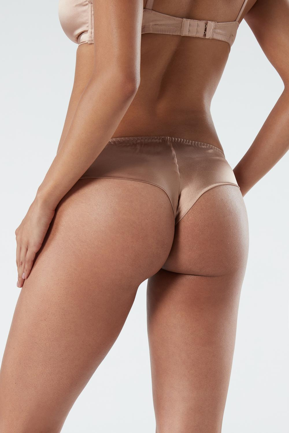 Silk Cheeky Briefs