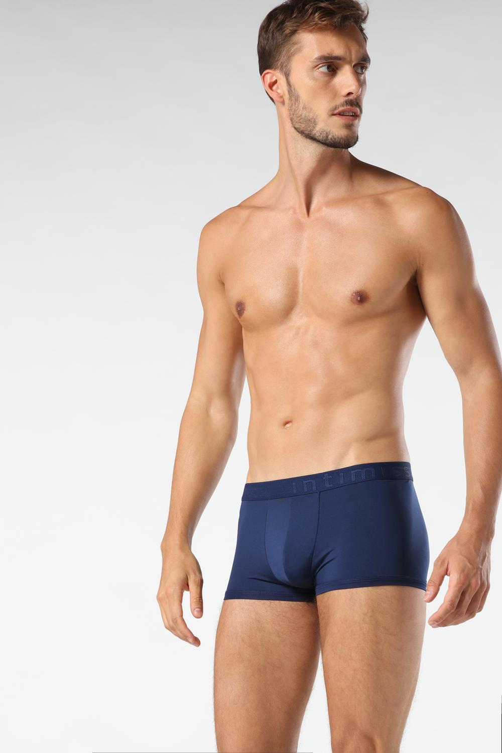 Boxer Shorts in Microfibre with Logo
