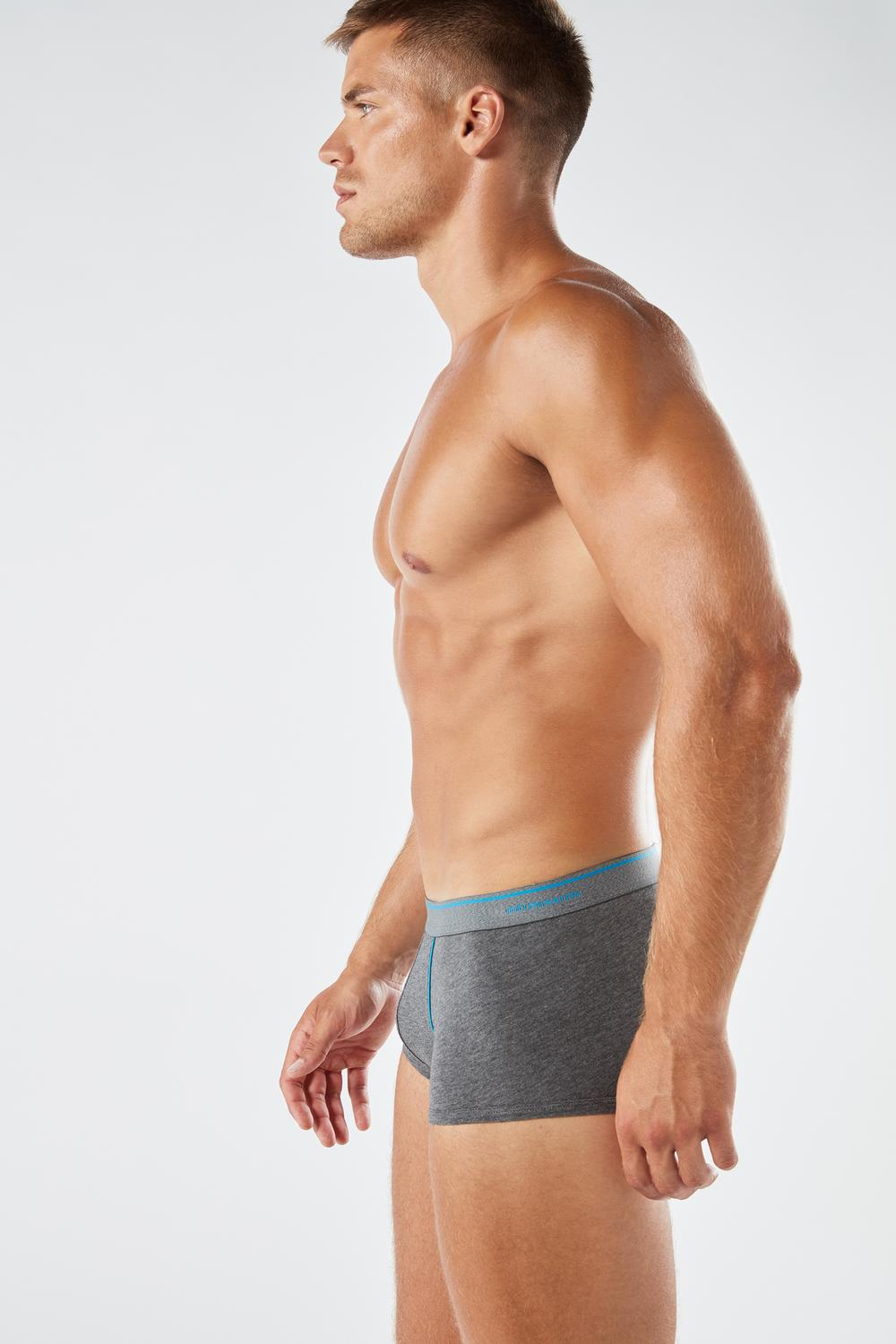 Supima® Cotton Boxers with Exposed Waistband