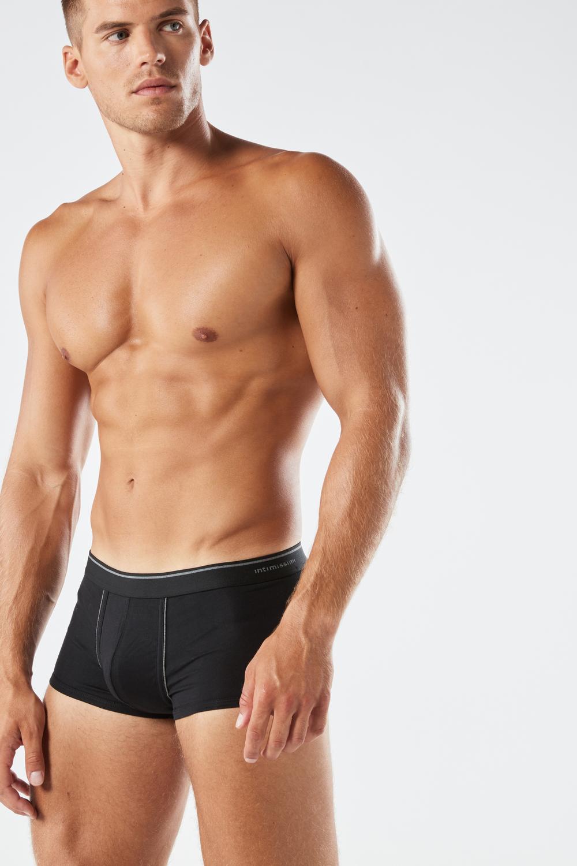 Boxer en Coton Supima® avec Taille Élastique