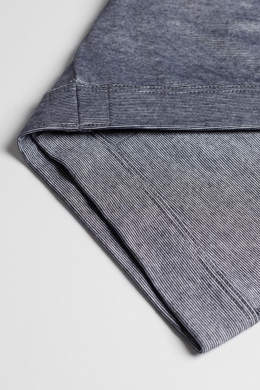 Pinstripe Lisle-Yarn Boxers