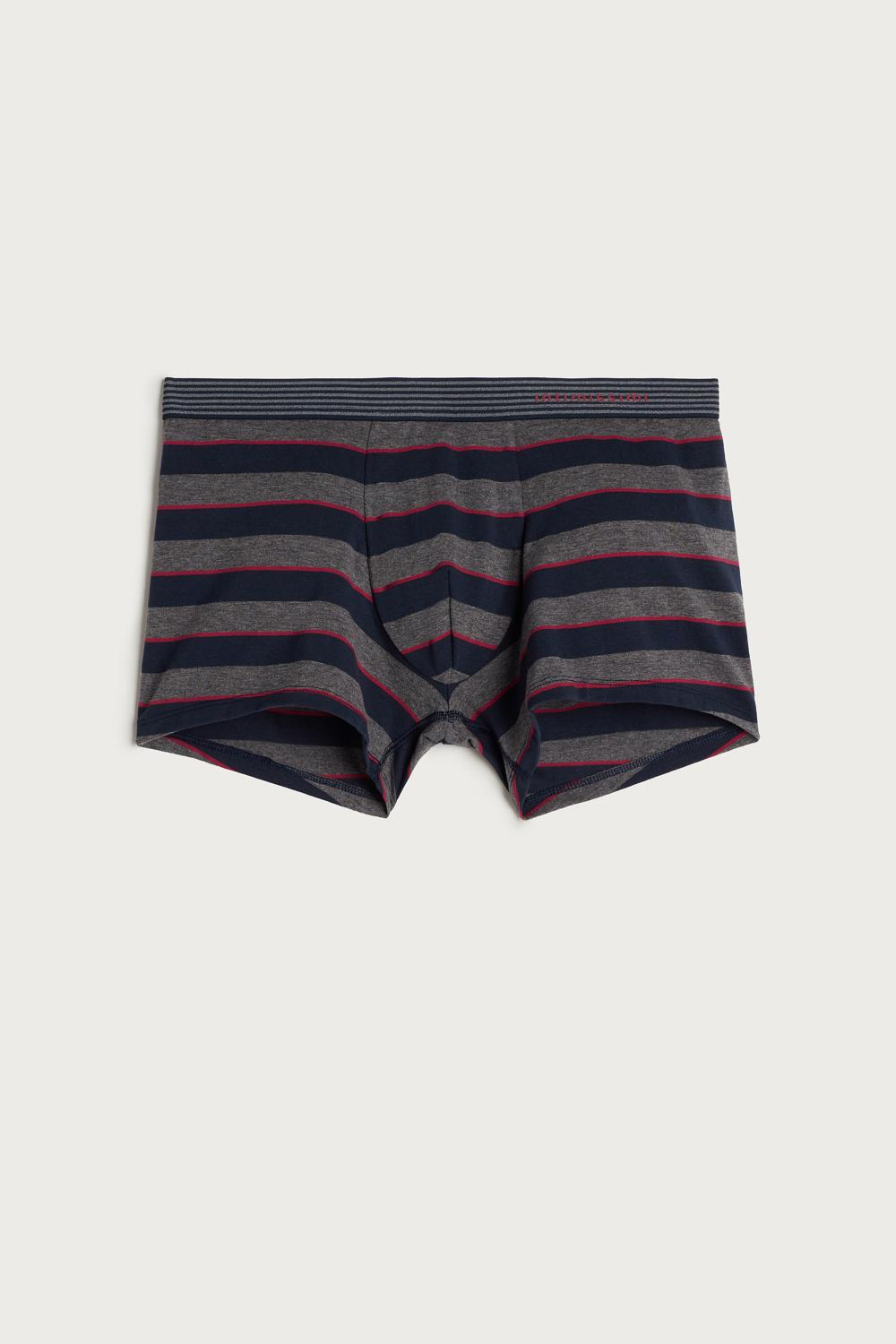 Wide Stripes Cotton Boxers