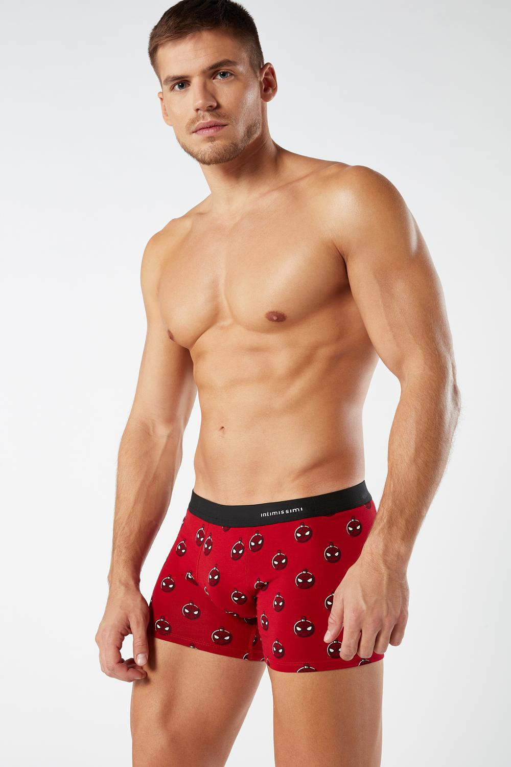 Spiderman© Christmas Cotton Boxers