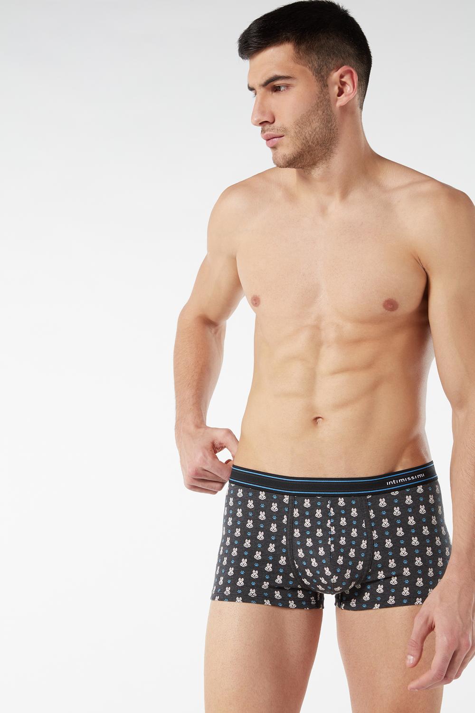 Printed Stretch Supima Cotton Boxers