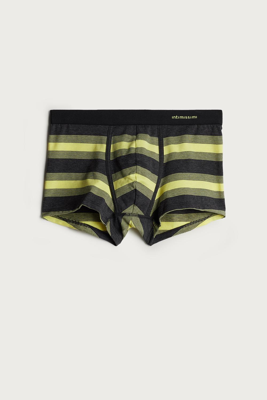 Wide Stripe Stretch Supima Cotton Boxers