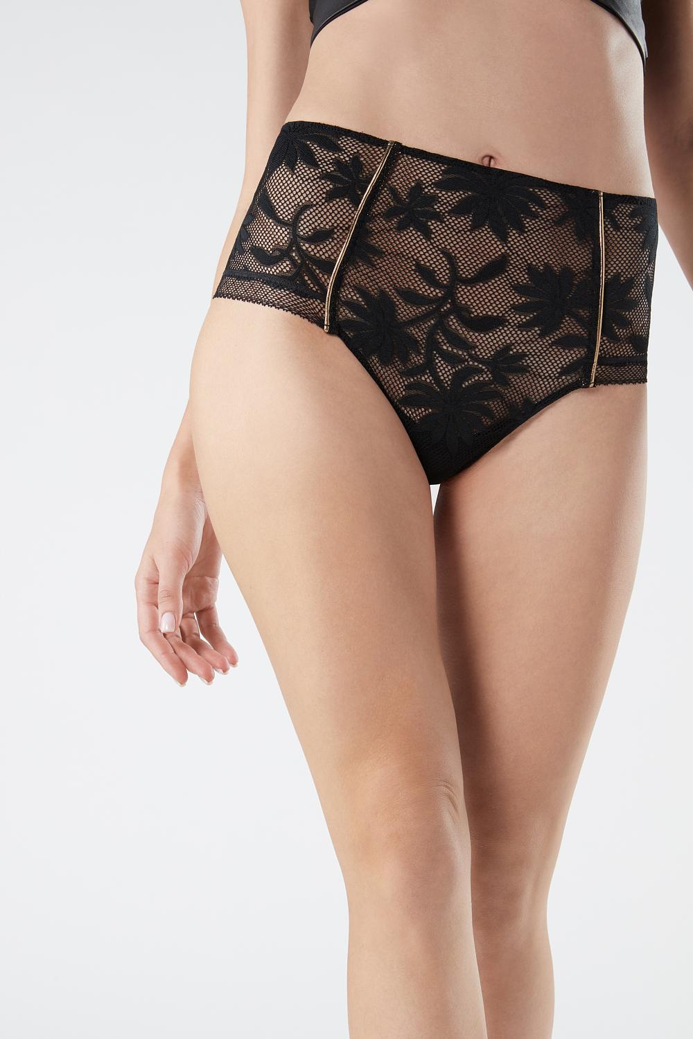 Culotte Leather Flower