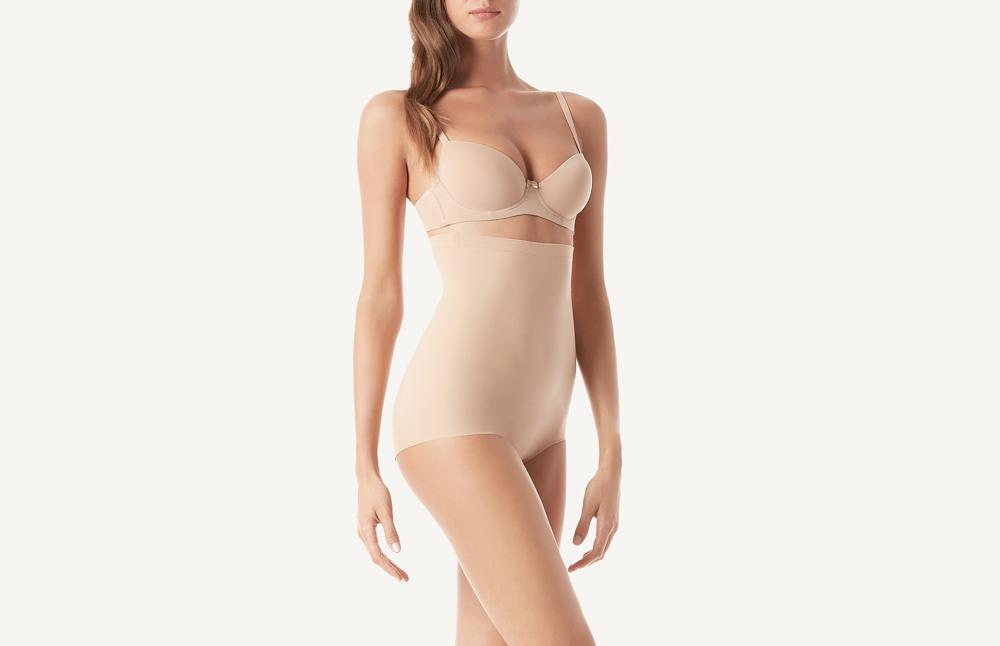 High Waist Shapewear French Panties