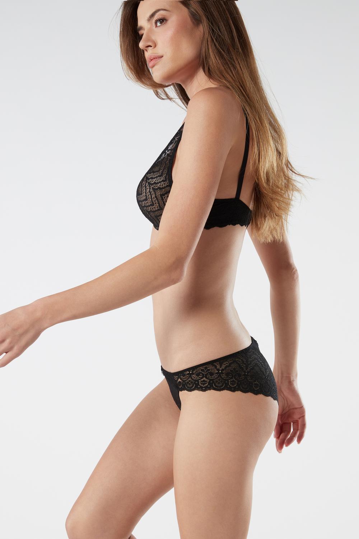 Lace Low-rise Panties