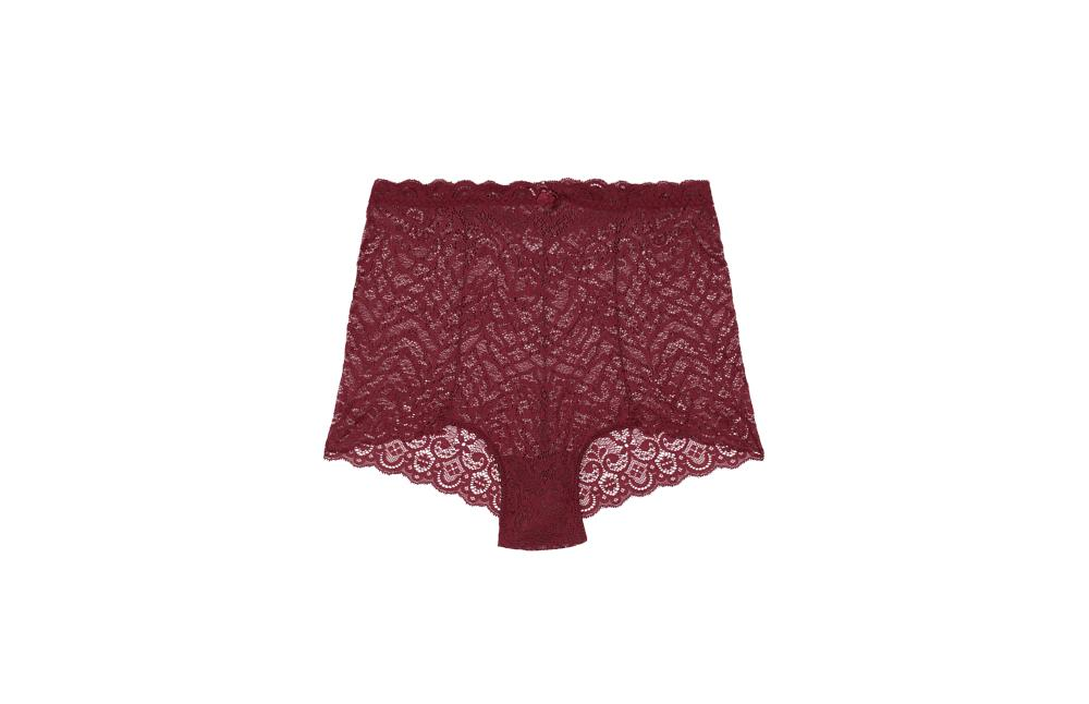 Lace High Waisted Knickers