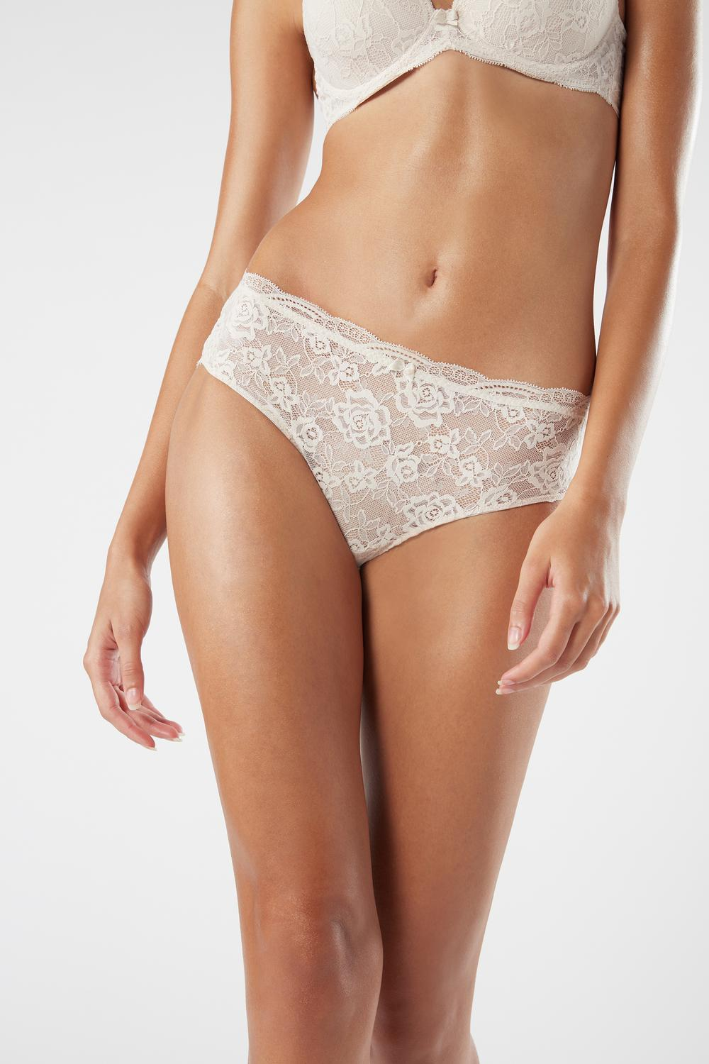 French Knickers aus Spitze