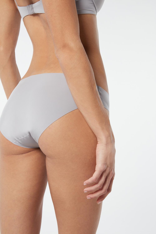 Culotte Enveloppante en Microfibre Sans Coutures
