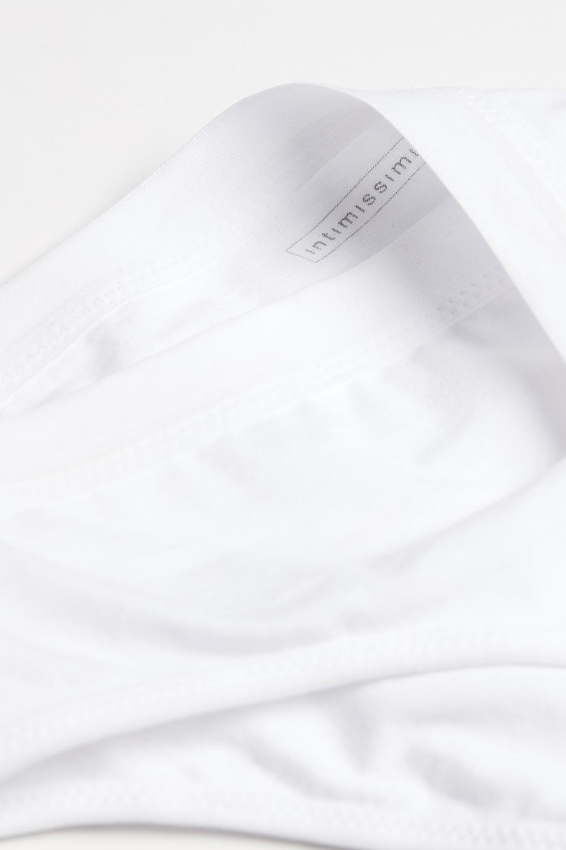 Slip Taille Semi-Haute en Coton