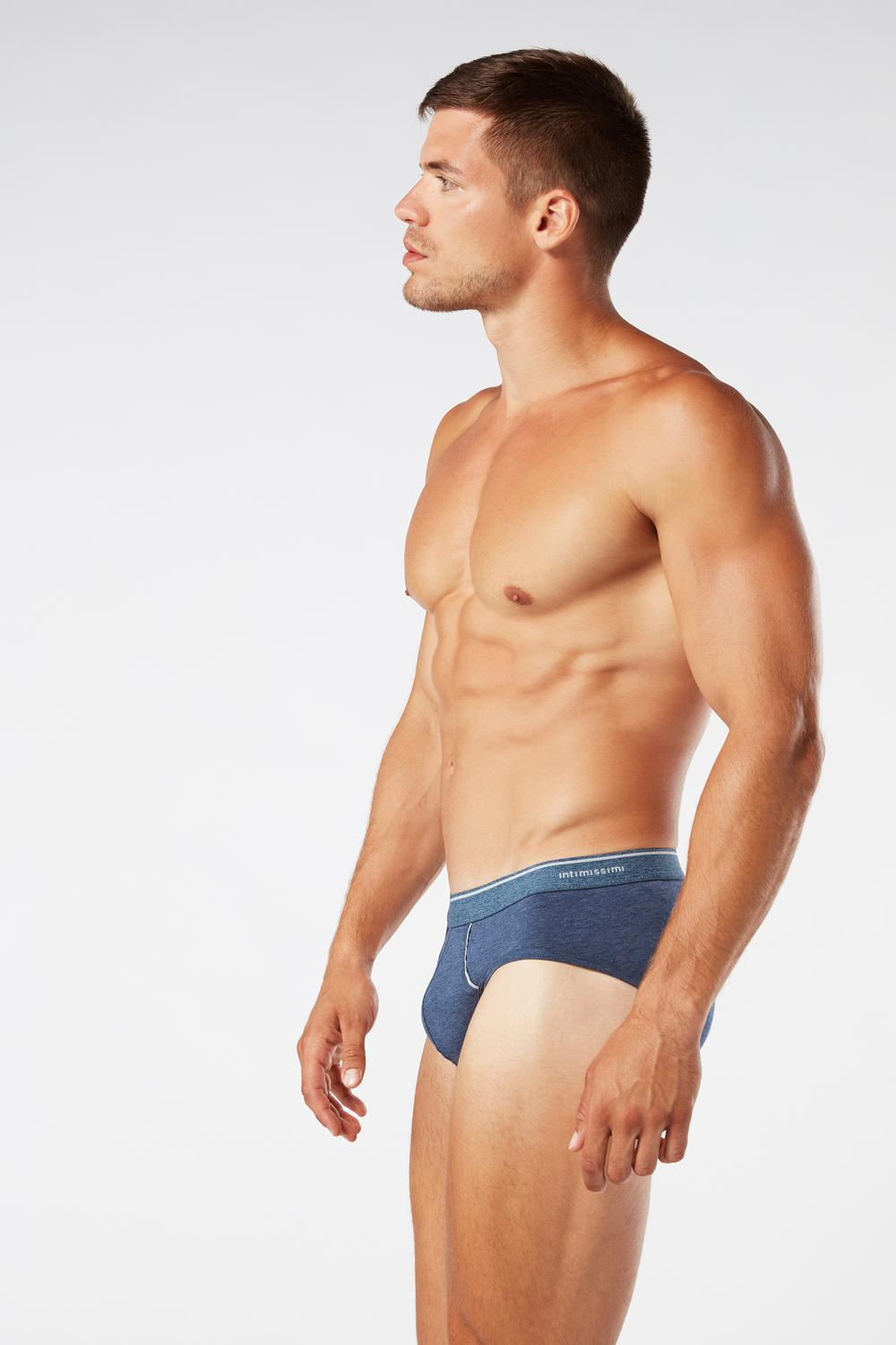 Supima Cotton Briefs with Visible Elastic