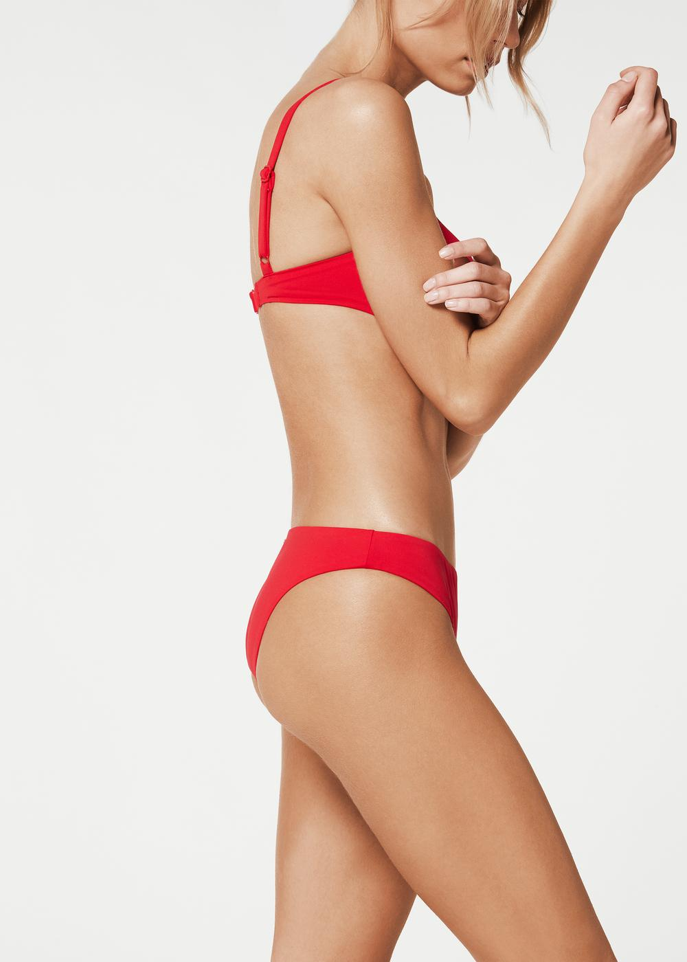 Indonesia Invisible Seam Bikini Bottoms