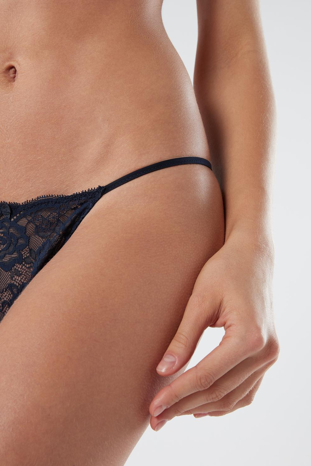 Lace Side G-String