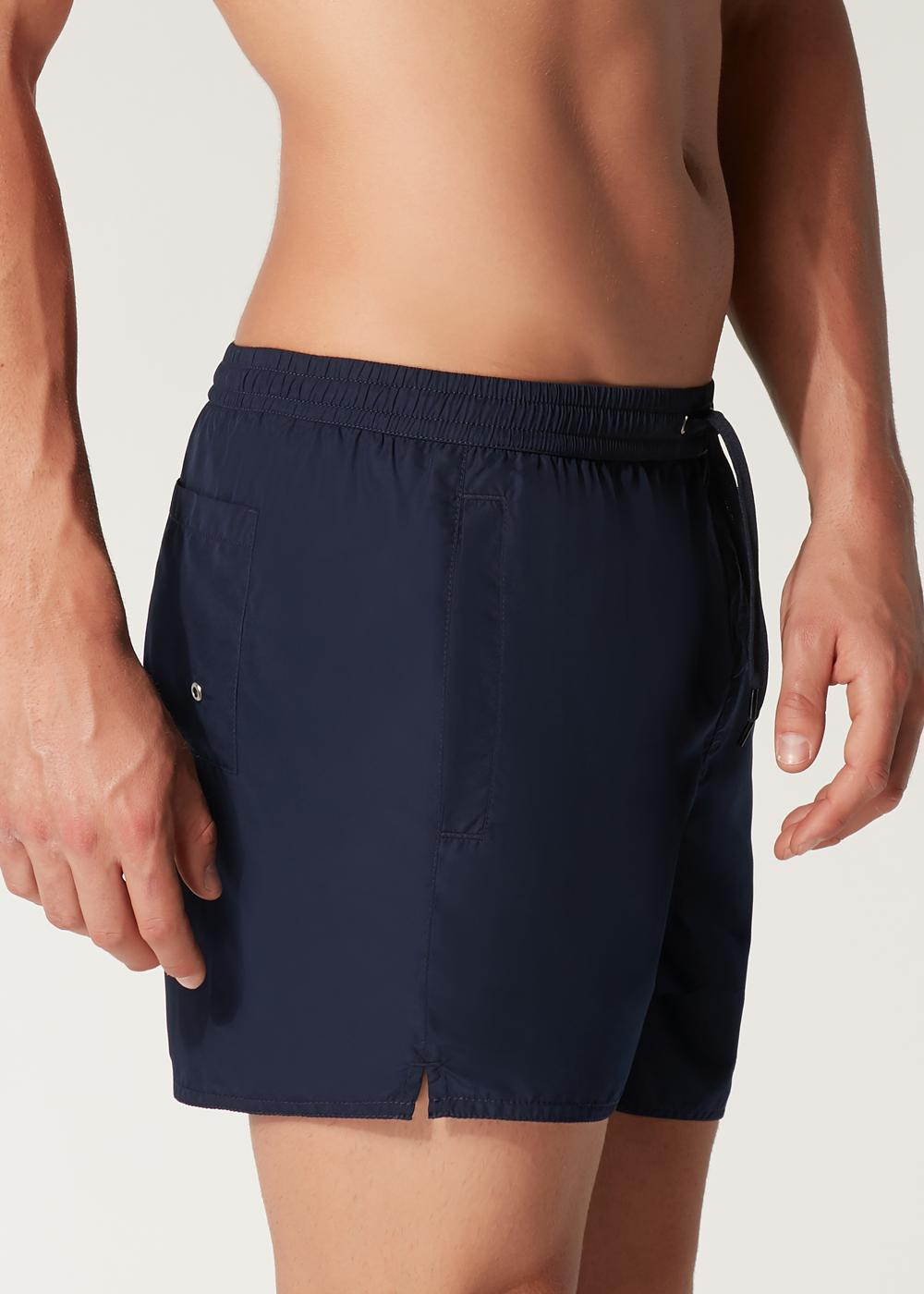 Formentera Cropped Patterned Swimming Shorts