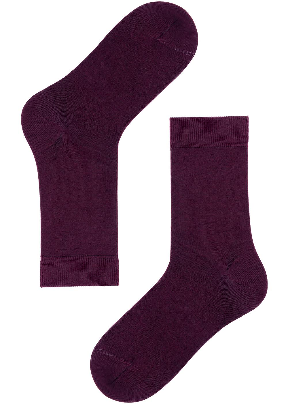 Short Wool and Cotton Socks