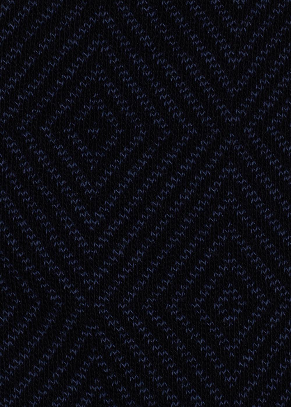 Gemusterte Baumwollsocken für Herren