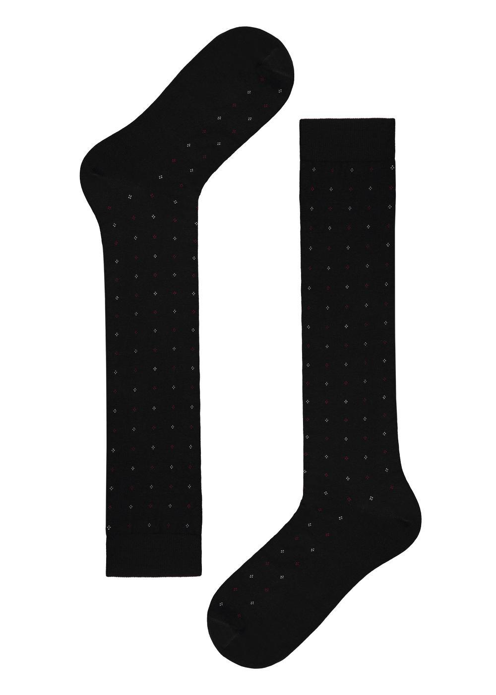 Men's long patterned socks
