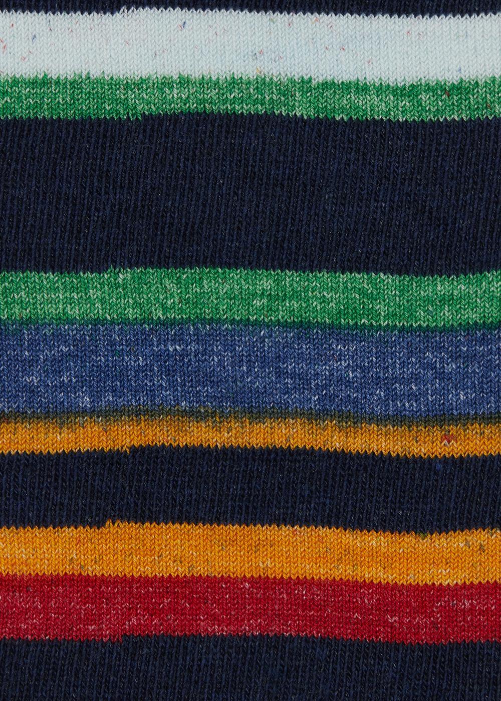 Long patterned cotton socks