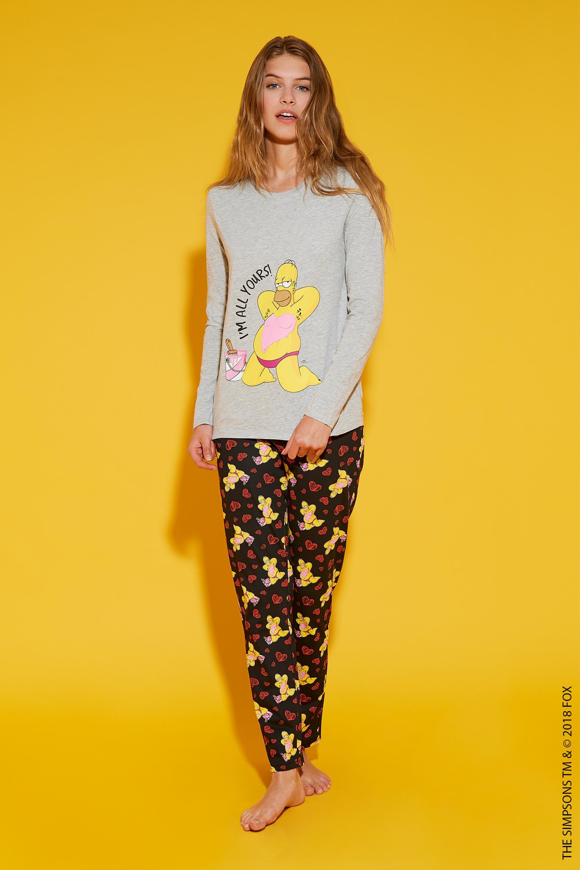 7c7108030d Pijama Largo Simpson Homer  Tezenis
