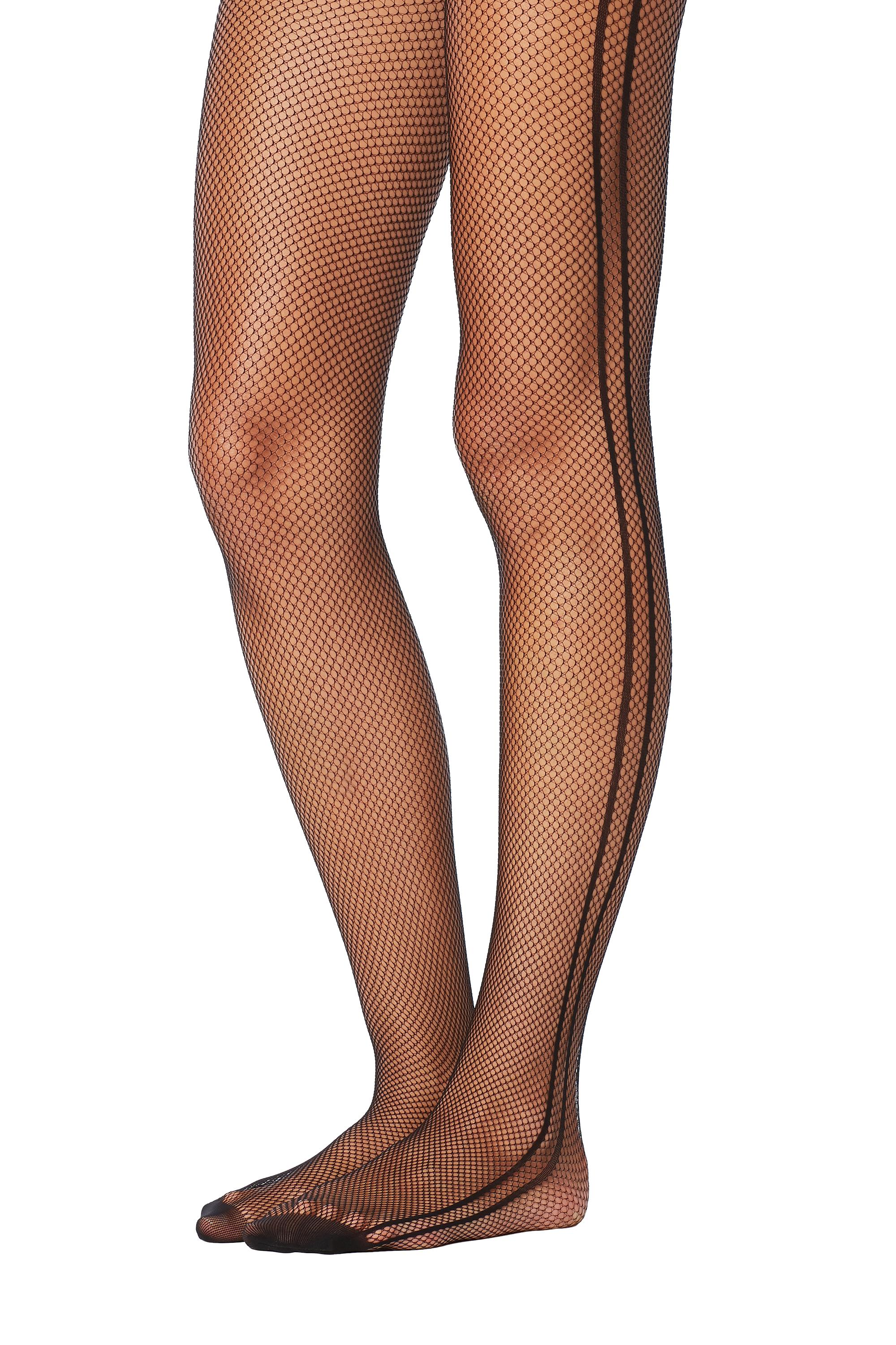 06fc3a3a745 Patterned Micro-Fishnet Tights - Tezenis
