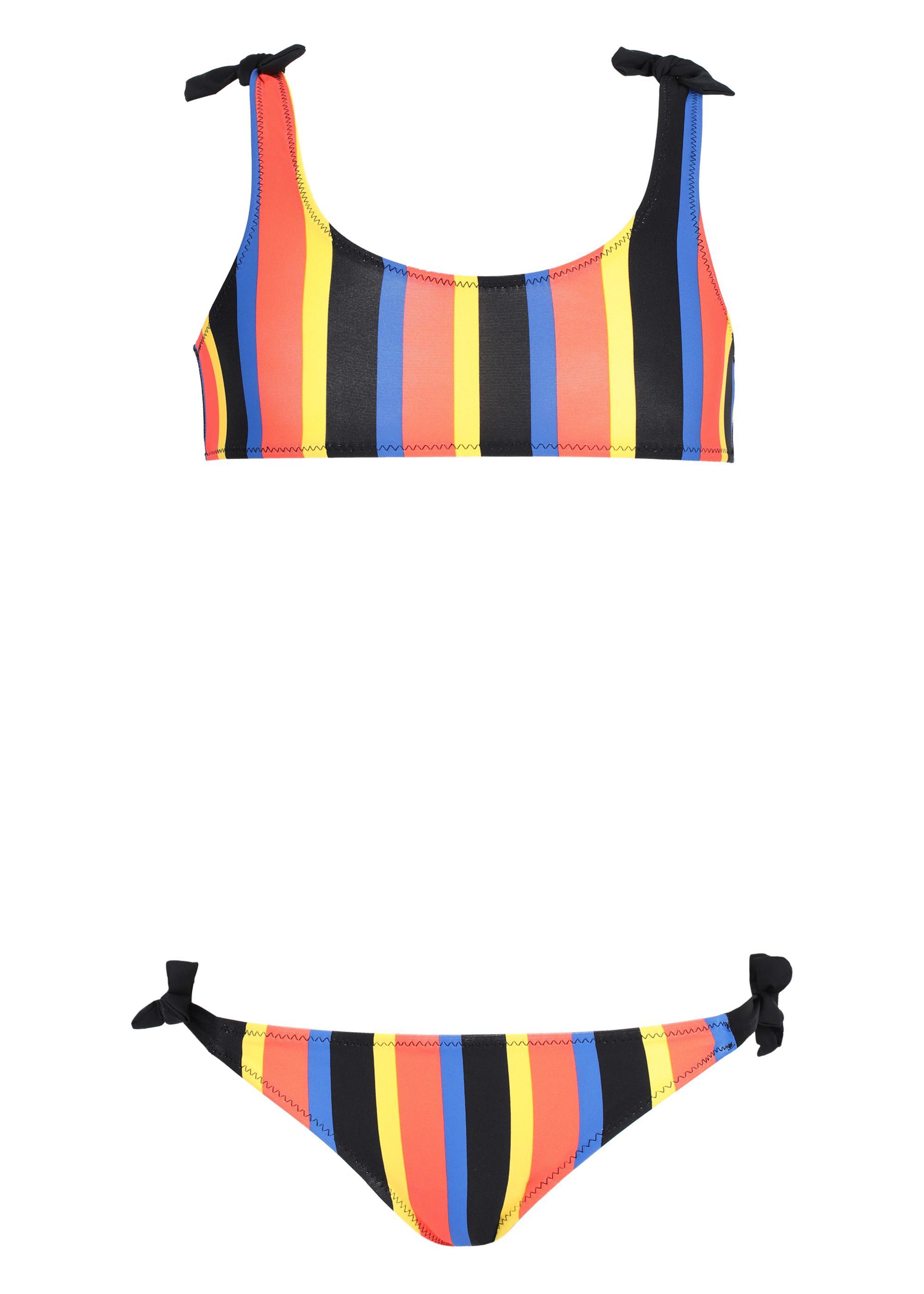 d23c66ee4249 Bikini para niña Liquirizia a rayas - Calzedonia