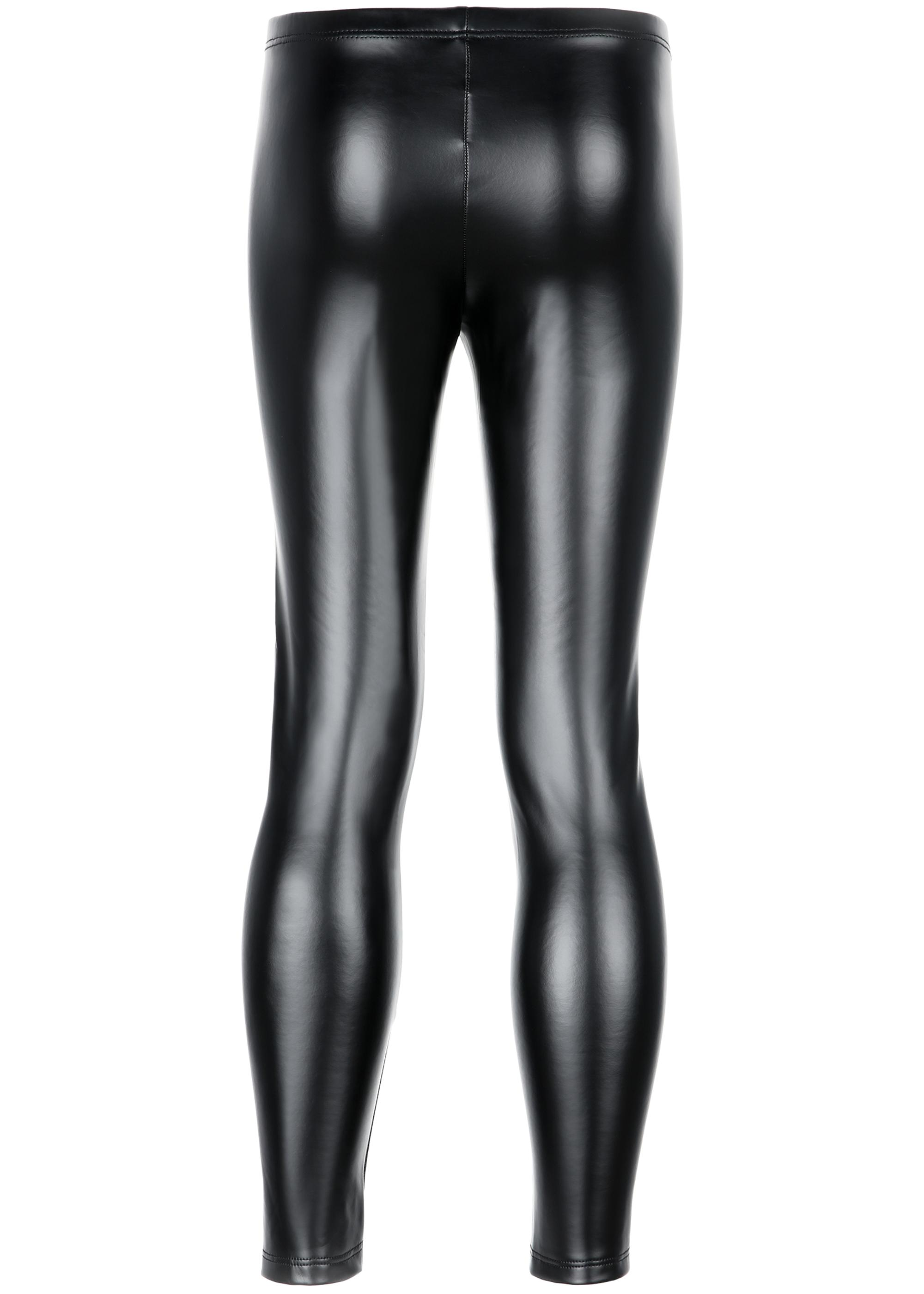 30bffd9e10a034 Girl's thermal leather-effect leggings - Calzedonia